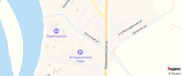 Кигачная улица на карте села Яксатово с номерами домов