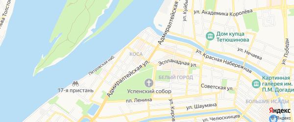 ГСК Аэлита на карте Адмиралтейской улицы с номерами домов