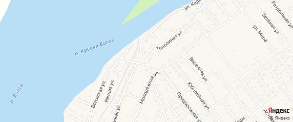 Тополиная улица на карте села Растопуловки с номерами домов