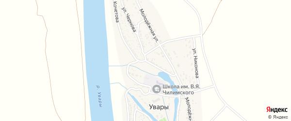 Улица Кочетова на карте села Увары с номерами домов