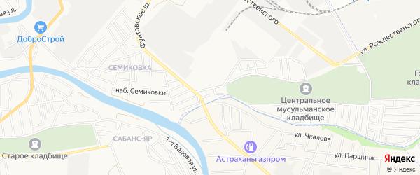 СТ СДТ Водник-2 на карте Малой улицы с номерами домов