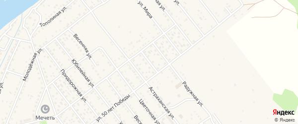 Улица Строителей на карте села Растопуловки с номерами домов