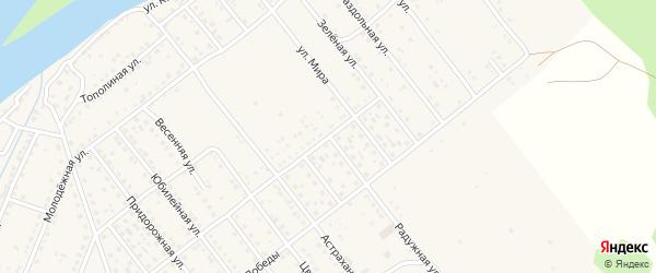 Радужная улица на карте села Растопуловки с номерами домов