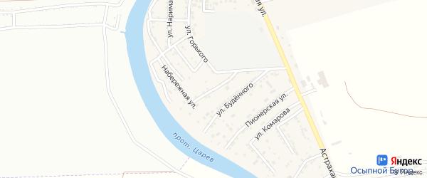 Молодежная улица на карте села Осыпного Бугра с номерами домов