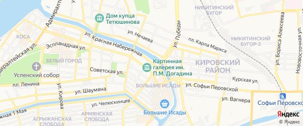 ГСК Колос на карте Красной Набережной улицы с номерами домов