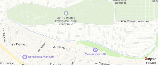 Территория сдт Медик НВББ на карте села Три Протоки с номерами домов