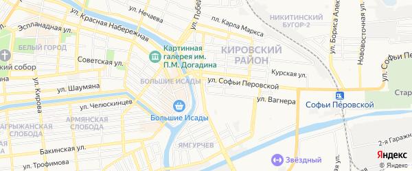 ГСК N37 на карте улицы Баумана с номерами домов