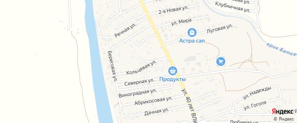 Студенческая улица на карте поселка Кирпичного Завода N1 с номерами домов