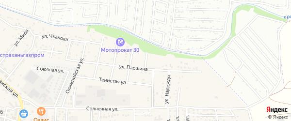Юбилейный переулок на карте села Осыпного Бугра с номерами домов