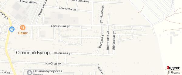 Цветочная 2-я улица на карте Астрахани с номерами домов