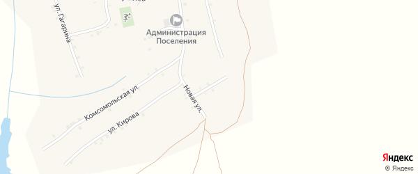 Улица В.Турдуш на карте села Ковали с номерами домов