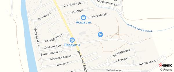 Фермерская улица на карте поселка Кирпичного Завода N1 с номерами домов