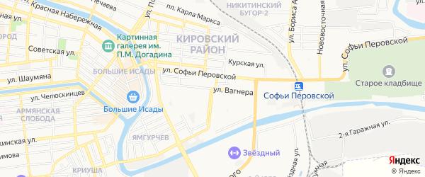 ГСК Ямгурчев на карте улицы Валерии Барсовой с номерами домов