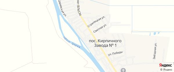 Олимпийский ГСК на карте Астрахани с номерами домов