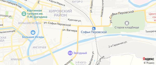 ГСК N33 на карте Студенческой улицы с номерами домов