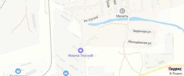 Лесная улица на карте села Кулаковки с номерами домов