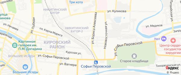 ГСК N1 Сахалинец на карте Зеленгинская 4-я улицы с номерами домов