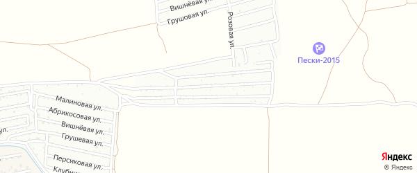 Территория сдт Монтажник (Кавказэнергомонтаж) на карте села Началово с номерами домов