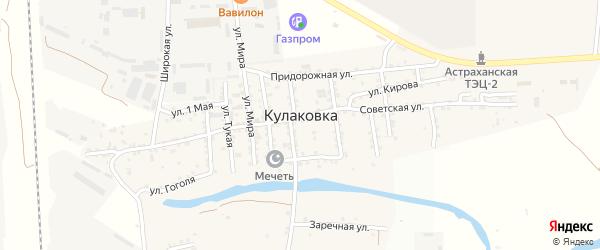 Г.Тукая улица на карте села Кулаковки с номерами домов