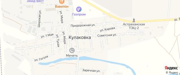 Улица Мусы Джалиля на карте села Кулаковки с номерами домов
