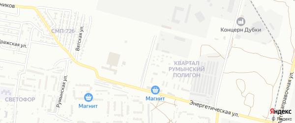 Улица Энергетическая 8-й проезд на карте Астрахани с номерами домов