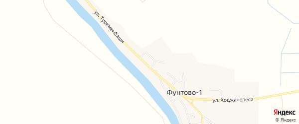 Фермерское хозяйство БАМ на карте села Фунтово-1 с номерами домов