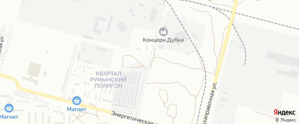 Улица Энергетическая 7-й проезд на карте Астрахани с номерами домов