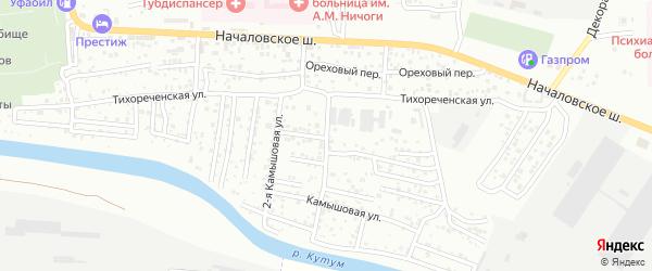 Инфекционный 1-й переулок на карте Астрахани с номерами домов