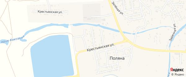 Улица Чайковского на карте села Три Протоки с номерами домов