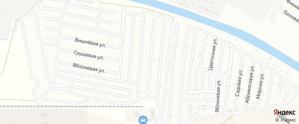 Территория сдт Надежда на карте села Началово с номерами домов