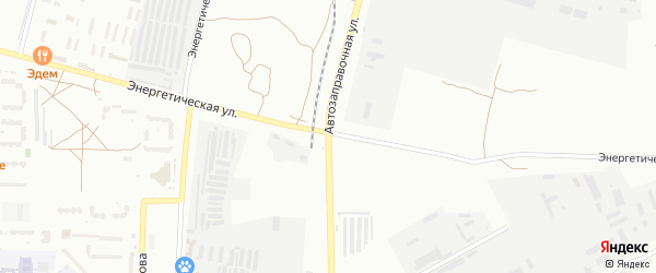 Автозаправочная улица на карте Астрахани с номерами домов