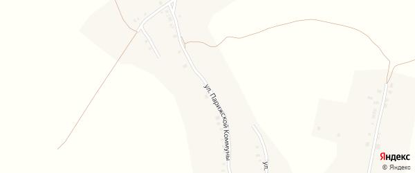 Улица Парижской Коммуны на карте деревни Дятлино с номерами домов
