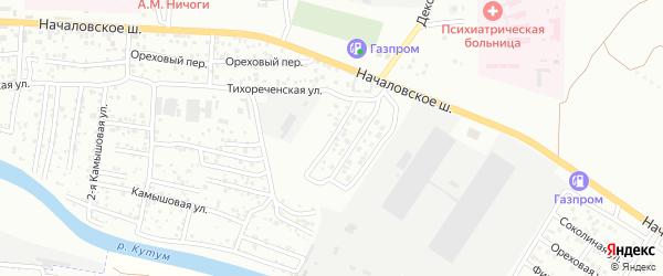 Оранжерейная улица на карте Астрахани с номерами домов