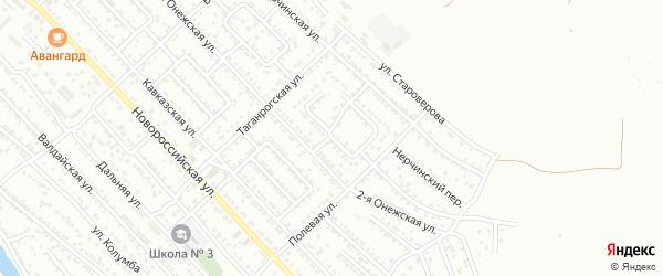 Болдинская 2-я улица на карте Астрахани с номерами домов