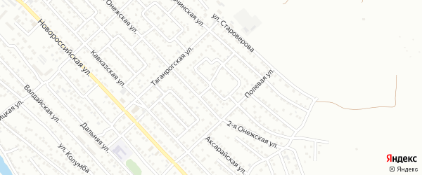 Болдинская улица на карте Астрахани с номерами домов