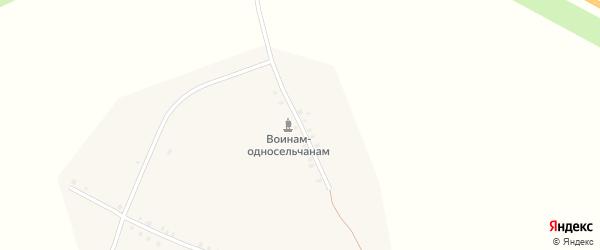 Улица Тельмана на карте деревни Мартыново с номерами домов