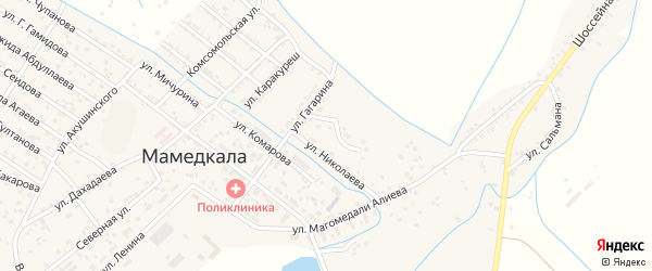 Савицкая улица на карте поселка Мамедкалы с номерами домов