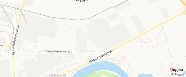 Энергетический ГСК на карте Астрахани с номерами домов