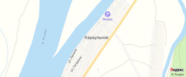 Улица Гагарина на карте Караульного села с номерами домов