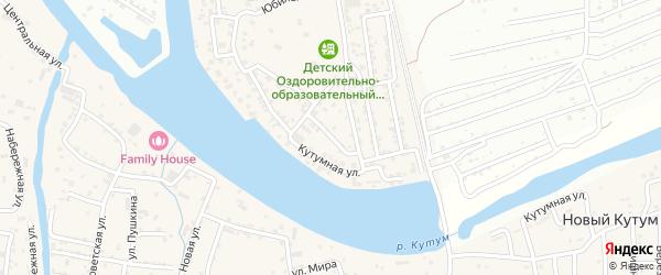 Зеленый переулок на карте Новоначаловский поселка с номерами домов