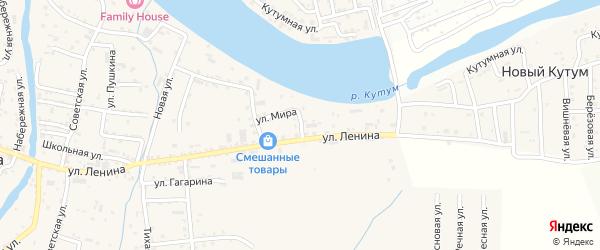 Тукая улица на карте села Три Протоки с номерами домов