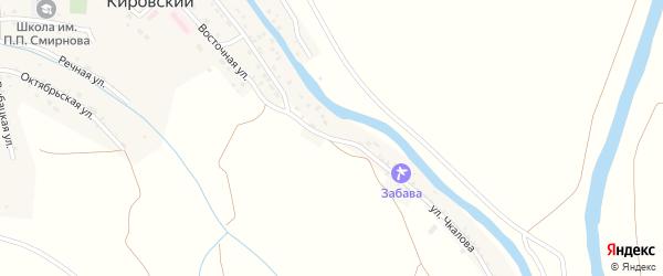 Улица Чкалова на карте Кировского поселка с номерами домов