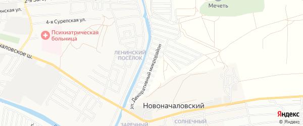 СТ Декоратор на карте Астрахани с номерами домов