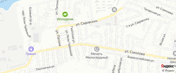 Светлогорская улица на карте Астрахани с номерами домов