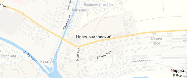 СТ сдт Астра обл управления Россельхозбанк на карте Новоначаловский поселка с номерами домов