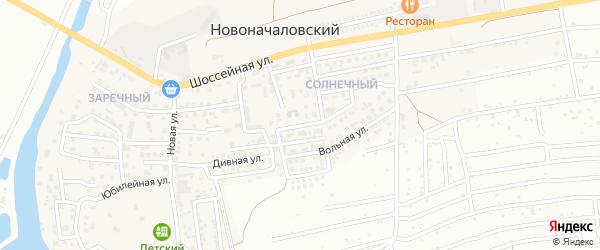 Дивная улица на карте Новоначаловский поселка с номерами домов