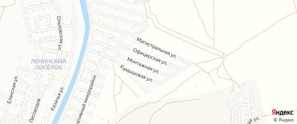 Территория сдт Вышкомонтажник на карте села Началово с номерами домов