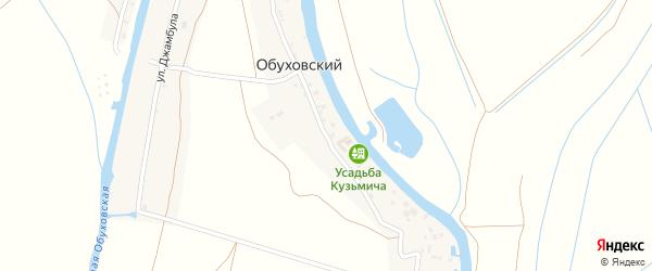 Садовая улица на карте Обуховского поселка с номерами домов