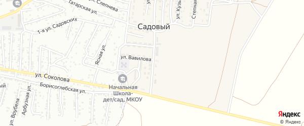 Улица им Академика Тимирязева на карте Садового поселка с номерами домов