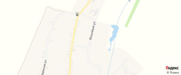 Вишневая улица на карте деревни Уразметево с номерами домов
